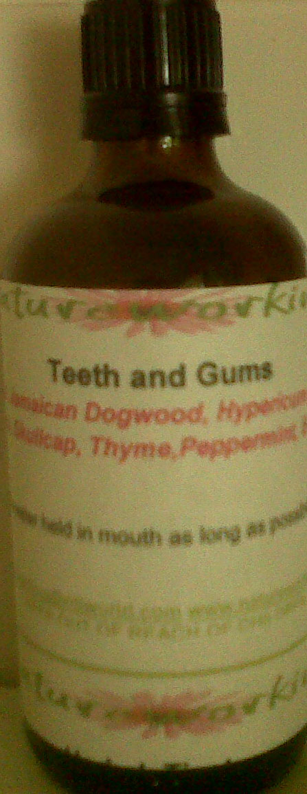 teeth and gums tincture cropped