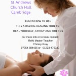 Reiki Level One Attunement and Training Day